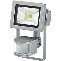 Brennenstuhl Chip LED-Leuchte 10W IP44 mit Bewegungsmelder Outdoor, 1171250102