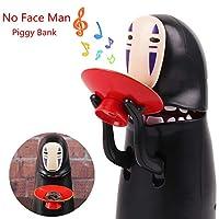 """Descrizione: Prodotto di alta qualità. Il salvadanaio No Face Man è un salvadanaio che prende automaticamente le monete e le salva per una data successiva. Mettere una moneta nella ciotola rossa e poi lo spirito """"ingoia"""" i soldi mentre la mus..."""