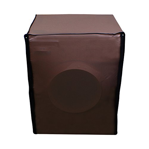Glassiano coffee colored washing machine cover for front load IFB senorita-sx 6.5KG washing machine  available at amazon for Rs.359