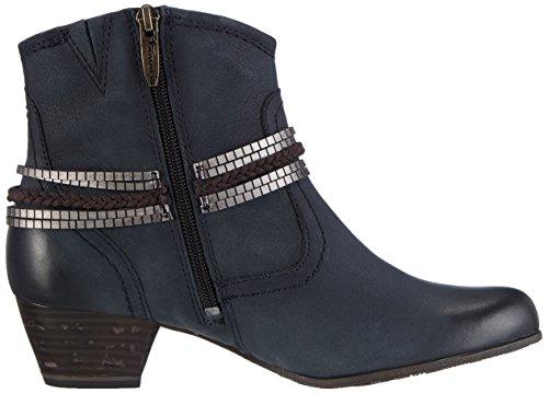 Tamaris 25373, Bottes Classiques Femme Bleu (navy 805)