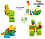 AdiChai Multi Colored Play And Learn Building Blocks Imagination Blocks for Kids