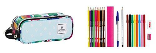 Moos – Portatodo Lleno, diseño Gafas, 23 Piezas, 21 x 8 cm (SAFTA 811523707)