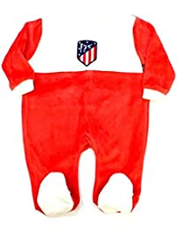 Pelele ATLÉTICO DE MADRID Manga Larga Terciopelo Bebé