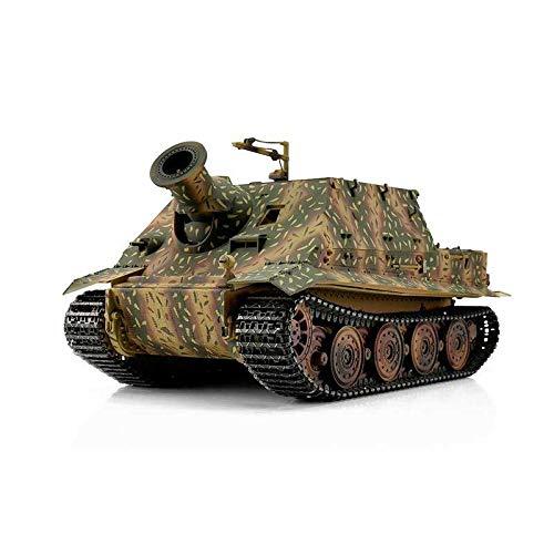 RC Auto kaufen Kettenfahrzeug Bild: Torro 3819-I - Sturmtiger Panzer mit Metallunterwanne IR, hinterhalt tarnlackierung*