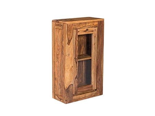 Woodkings® Hängeschrank Leeston Echtholz Palisander lackiert Badmöbel Badezimmer Wandschrank Badezimmerschrank Badschrank Massivholz