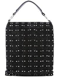 """FEYNSINN cartera estilo """"shopper"""" FLICKA - piel genuina - bolso de hombro - L - bolso de mano para (34 x 44 x 2 cm)"""
