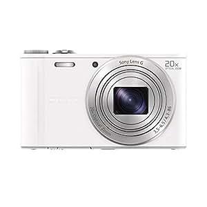 Sony DSC-WX300 Digitalkamera (18,2 Megapixel, 20-fach opt. Zoom, 7,5 (3 Zoll) LCD-Display, Full-HD, micro HDMI) weiß