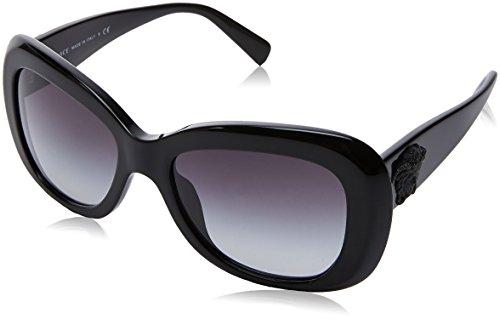 Versace 0ve4317 gb1/8g 54, occhiali da sole donna, nero (black/gradient)