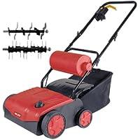 Arieggiatore elettrico Twister 1200 con cesto di raccolta 30lt. Valex - Utensili elettrici da giardino - Confronta prezzi