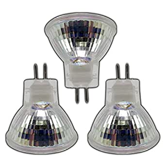 Lampadine led 3 pezzi mr11 gu5 3 led 2 w 12 v dc con 9 for Lampadine led grandi