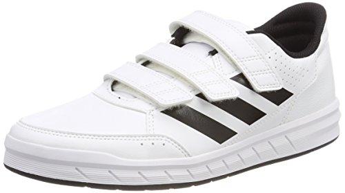 adidas Unisex-Kinder AltaSport Cloudfoam Gymnastikschuhe, Elfenbein (Ftwr White/Core Black/Ftwr White), 35 EU (Kinder Adidas Jungen Schuhe)