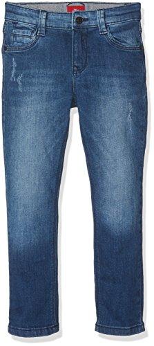 s.Oliver Jungen Jeans Hose, Blau (Blue Denim Stretch 56Z4), 104 (Herstellergröße: 104/REG)