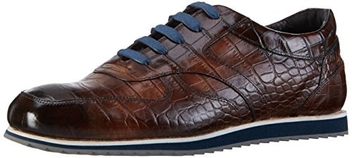 Melvin & Hamilton Niven 3, Sneakers basses homme Marron - Braun (big Croco Dk.Brown/RS)