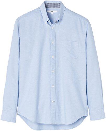 FIND Herren Jake Oxford Hemd Regular Fit Blau (Blue)