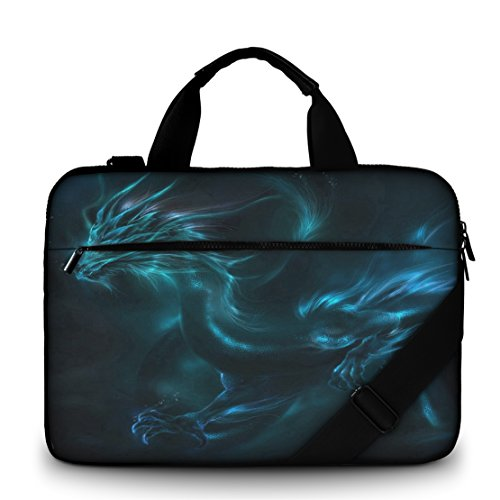 silent-monsters-laptop-bag-case-156-inch-made-of-canvas-with-pocket-for-accessories-design-dragon