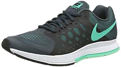 Nike Air Zoom Pegasus 31, Running Entrainement Femme - Gris (Classic Charcl/Menta/Grn Glow), 36.5 EU