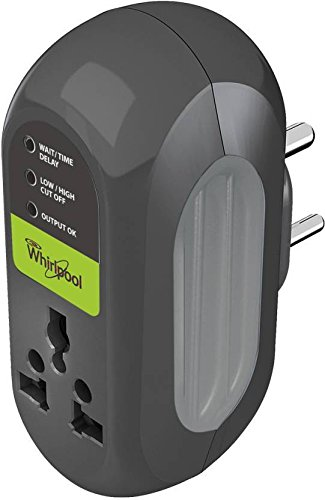 Whirlpool BEACON Socket Mounted Voltage Protector For Refrigerator / Fridge ( 6 Amps ) With 3 Minutes Time Delay