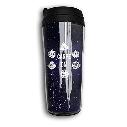 Carpe DM Curved Coffee Mug Travel Cup 12 ounce Multicolor2