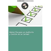 Libro de Máster Europeo en Auditoría y Gestión de la Calidad