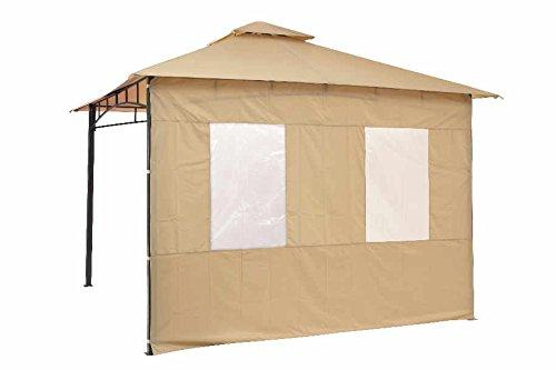 Tepro Seitenteilset für LEHUA und WAYA Sand Pavillon Garten terasse Camping 5514
