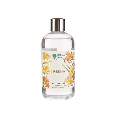 Wax Lyrical 250 ml Royal Horticultural Society Reed Diffuser Refill, Freesia from Wax Lyrical