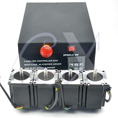 AiCheaX Tool - Caja control CNC 4 ejes 125KHz 4pcs
