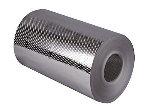 HairGrip PRO - erste rutschfeste Aluminium Strähnenfolie - Rutschfest 13cm breit, 75m lang, Mega Reißfest, 1 Stück
