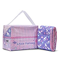 LittleForBig Printed Adult Brief Diapers Adult Baby Diaper Lover ABDL 10 Pieces-Little Fantasy M