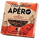 Microdélices Insectes Comestibles Apéro 250 Barbecue Mélange de Grillons/Vers de Farine 10 g -