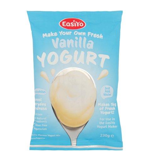 Easiyo Vanilla Flavoured Yogurt Sachet - 4x240g
