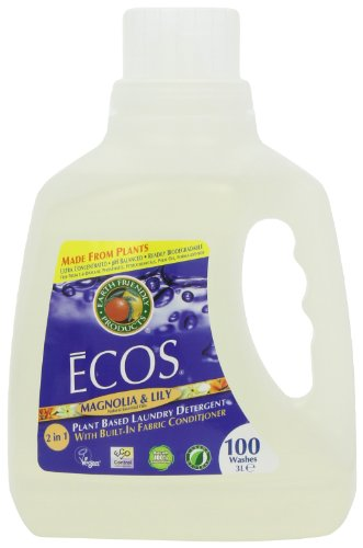 Price comparison product image Earth Friendly Products Ecos Magnolia and Lily Laundry Detergent 100 Washes 3.0 Litres