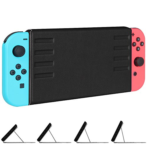Price comparison product image Fintie Nintendo Switch Case - [Multiple Secure Angles] Ultra Slim Protective Flip Cover with Magnetic Kickstand [Quick Installation / Removal] [Easy for TV Mode] for Nintendo Switch - Black