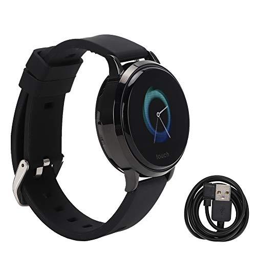 ASHATA Smart Watch Band S9 Smart Armband IP68 Wasserdicht Schrittzähler Herzfrequenz-Blutdruckmessgerät Fitness Tracker(Schwarz)