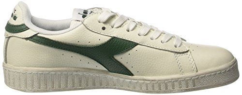 Diadora Unisex-Erwachsene Game L Low Waxed Pumps, 36 EU Elfenbein (Bianco/fogliame)