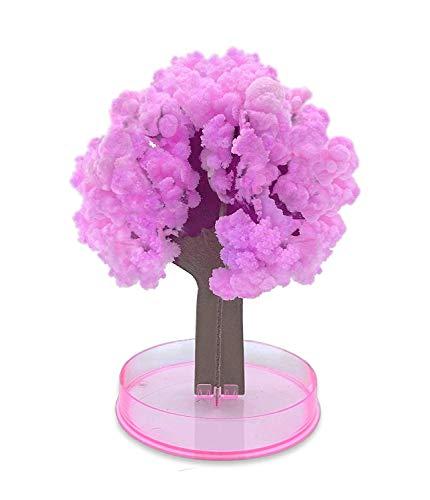 YiRAN Magic Sakura Growing Tree Spielzeug groß Weihnachten Geschenk Secret Santa Strumpffüller Rosa