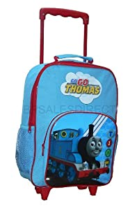 Trade Mark Collections Thomas The Tank Engine Cgi Wheeled Bag With Front Pocket from Trade Mark Collections