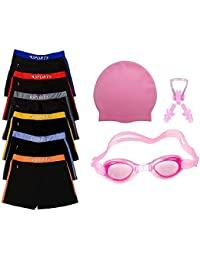 Golden Girl Swimming Kit for Boys Kids & Men(Pink_2-3 Years)