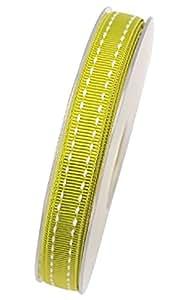 Stichband HELLGRÜN 10mm 15m