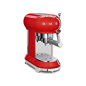 Smeg ECF01RDUK Espressco Coffee Machine