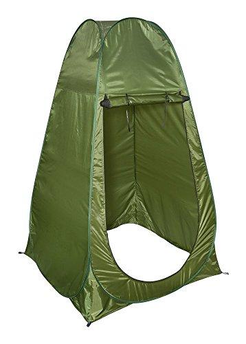 livivo Tragbare Instant Pop Up Zelt Outdoor Camping WC-Bademantel Dusche Ändern Zelt & WC Privatsphäre Zimmer für Camping-Strand, Picknick Angeln und Festivals Urlaub