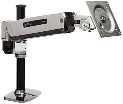 ERGOTRON LX HD Sit-Stand Desk Mount LCD max 13,6kg. anheben 51cm neigen 80grad schwenken 360grad drehen 90grad - Schwenken