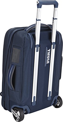 Thule Crossover Carry-On Trolley 38L Reisekoffer (tragbar als Rucksack, inkl. Notebookfach) Schwarz Blau