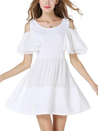 Fortuning's JDS Chic behandeln die elastischen gepaßten Kappe Schicht-Hülsen kühl u. erweitern sich Minikleider für Ladiessses für Mädchen
