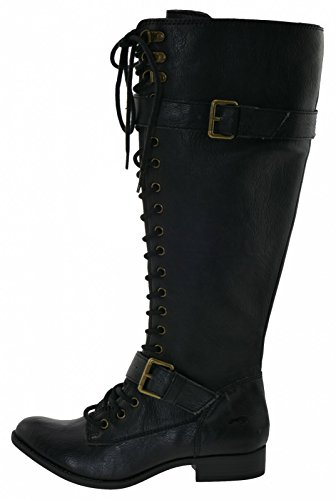 Rocket Dog Beany Schnürstiefel black Black