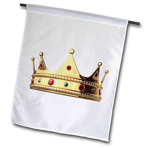3dRose FL_4313_1 Königskrone, Gartenflagge, 30,5 x 45,7 cm