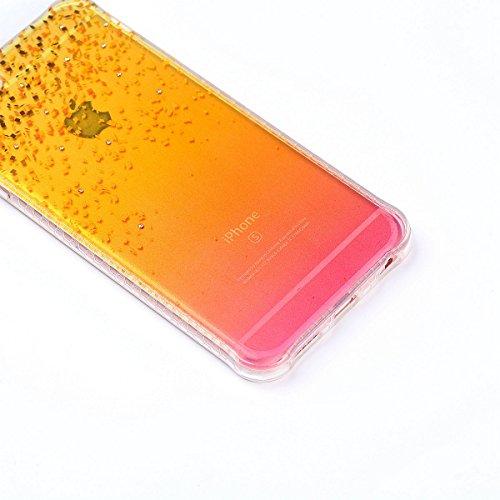 ZeWoo TPU Schutzhülle - YT01 / Bunte Schmetterlinge - für Apple iPhone 6 Plus (5,5 Zoll) Silikon Hülle Case Cover YT08