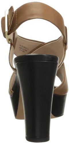 Clarks Scotch Glow, Sandales femme Marron (Tan Leather)