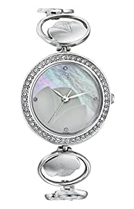 Titan Raga Analog Mother of Pearl Dial Women's Watch- 2539SM01
