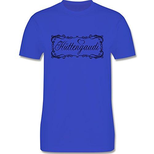 Après Ski - Hüttengaudi Vintage verspielt - Herren Premium T-Shirt Royalblau