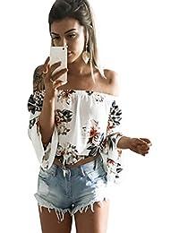 Blusas Amazon Camisetas Xs Mujer En Y Chifon Tops es 5n1zfv